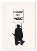 CPM - HUMOUR - L'EXPANSION (PÉNIB) - Humor