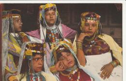 ALGERIE - Scènes Et Types - 2 CPA : Beautés Maureques - Jeunes Filles Mauresques - Algeria
