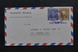 SALVADOR - Enveloppe Commerciale De San Salvador Pour Los Angeles En 1949, Affranchissement Plaisant - L 43967 - El Salvador