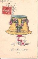 Illustrateur ROBERTY - La Mode En 1909 (Eté) - Le Sourire N° 114 - Altre Illustrazioni