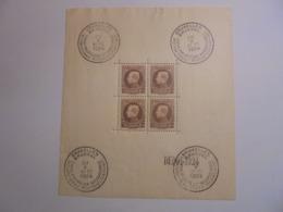 BELGIQUE BLOC N°1 NEUF SANS CHARNIERES - Blocks & Sheetlets 1924-1960