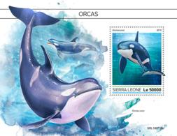 Sierra Leone  2019  Fauna Orcas Whale  S201909 - Sierra Leone (1961-...)