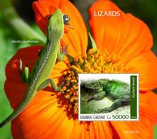 Sierra Leone  2019  Fauna  Lizards S201909 - Sierra Leone (1961-...)