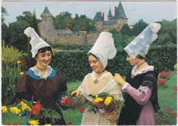 44. Gf. Costumes Du PAYS DE RETZ. Jeunes Filles En Costumes De 1850. 3 - France