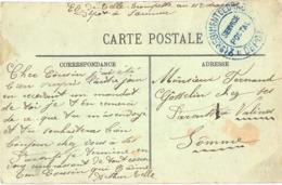 GUERRE 14-18 21e REGIMENT DE DRAGONS * DEPOT *  À SAUMUR MAINE-ET-LOIRE - Postmark Collection (Covers)