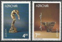 FÄRÖER 1993 Mi-Nr. 248/49 ** MNH - Färöer Inseln