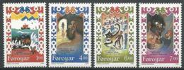 FÄRÖER 1994 Mi-Nr. 266/69 ** MNH - Färöer Inseln