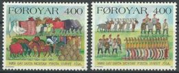 FÄRÖER 1994 Mi-Nr. 270/71 ** MNH - Färöer Inseln