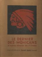 LE DERNIER DES MOHICANS - CHOCOLAT CEMOI - JAQUETTE - Cioccolato