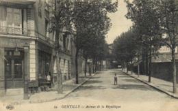 GENTILLY  Avenue De La Republique Café Des 2 Avenues RV - Gentilly