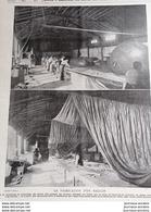 1899 AÉRONAUTE LA FABRICATION D'UN BALLON - COMTE DE LA VAULX - SANTOS DUMONT - LA VIE AU GRAND AIR - Livres, BD, Revues