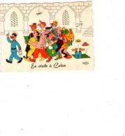 28-culan-en Visite A Culan-illustrateur Dubout - France