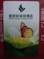 China Hotel Key, Colro Village Holiday Hotel,xinyu, Jiangxi,  (1pcs) - China