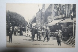 44 ; Paimboeuf - Le Quai Boulay  Paty ( Café De La Loire , Animation ) - Paimboeuf