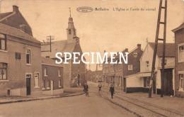 L'Eglise Et L'arrêt Du Vicinal - Bellaire - Beyne-Heusay