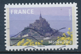 France - Mont St-Michel YT A334 Obl. Ondulations - Luchtpost