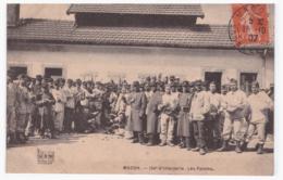 MACON 134e D'Infanterie. Les Patates (carte Animée) - Macon