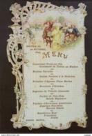 MENU Réalisé En 1895  Par Auguste Escoffier Au Savoy De Londres, Où Il Travailla Durant Sept Années. - Recepciones
