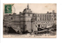 OBLITERATION CONGRES DE LA PAIX SAINT GERMAIN EN LAYE DU 2/6/1919 - Marcophilie (Lettres)
