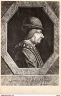 LOUIS XI (1423-1483)    Roi De France En 1461   2 Scans  TBE - Familias Reales