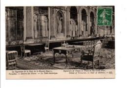 OBLITERATION VERSAILLES CHATEAU CONGRES DE LA PAIX DU 28/6/1919 - Marcophilie (Lettres)