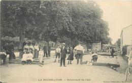 LA ROCHE SUR YON - Boulevard De L'est. - Pétanque