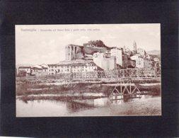 88115    Italia,  Ventimiglia,  Passerella Col Fiume E Parte Della Citta Antica,  NV(scritta) - Imperia
