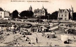 BATZ LE FOND DE LA PLAGE SAINT MICHEL - Batz-sur-Mer (Bourg De B.)