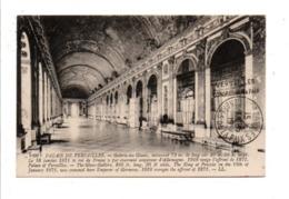 OBLITERATION  VERSAILLES CONGRES DE LA PAIX DU 7/5/1919 - Postmark Collection (Covers)