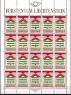 1990 Liechtenstein  Mi.  984-5**MNH Europa  Postalische Einrichtungen - 1990