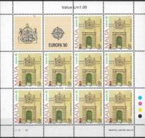 1990 Malta   Mi. 831-2**MNH Europa  Postalische Einrichtungen - 1990