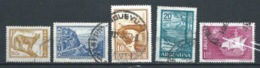 ARGENTINA 1960 (O) USADOS MI-700+702+704+705+747 YT-603+605+606A+606C+PA76 VARIOS - Oblitérés