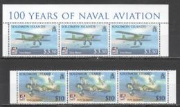 S930 2009 SOLOMON ISLANDS MILITARY NAVAL AVIATION FLY NAVY 6ST MNH - Avions