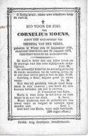 Moens Cornelius (wieze 17891 -1872) - Religion &  Esoterik