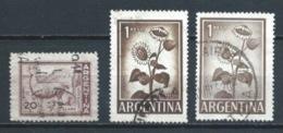 ARGENTINA 1961 (O) USADOS MI-763+764 YT-602+604 VARIOS - Oblitérés