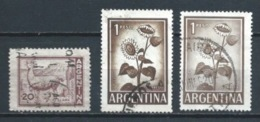 ARGENTINA 1961 (O) USADOS MI-763+764 YT-602+604 VARIOS - Argentinien