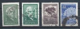ARGENTINA 1962 (O) USADOS MI-766+768+769 YT-662+606B+606D VARIOS - Usati