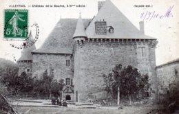 Alleyras. Château De La Baume. (Façade Est) - France