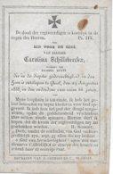 Schillebeeckx Cornelia ( Geel 1792 -1858 ) - Religión & Esoterismo
