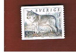 SVEZIA (SWEDEN) - SG 1672 -  1993 WOLF  - MINT** - Neufs