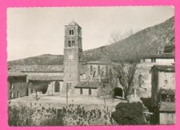 CPSM GM FRANCE 04  ~  MOUSTIERS-SAINTE-MARIE  ~  135.31  L'Eglise XIIe Siècle  ( La Cigogne Dentelée 50/60 ) - France