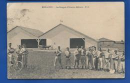 BAR-LE-DUC   Les Hangarsd'Aviation Militaire   Animées    écrite En 1912 - Bar Le Duc