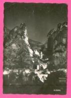 CPSM GM FRANCE 04  ~  MOUSTIERS-SAINTE-MARIE  ~  135.38  Illuminations   ( La Cigogne Dentelée 1959 ) - France