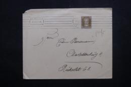 ALLEMAGNE - Affranchissement Perforé Sur Enveloppe En 1927 - L 43991 - Deutschland