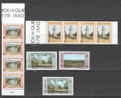 L1220 1977,1978 GUERNSEY EUROPA CEPT VIEWS PORT HARBOR ARCHITECTURE NATURE 5SET+1ST MNH - Europa-CEPT