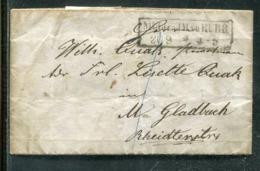 Preussen / 1859 / Brief R2 MUELLHEIM A.D. RUHR (0325) - Deutschland