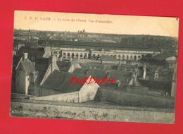 14 Calvados CAEN La Gare De L'Ouest Vue D'ensemble - Caen