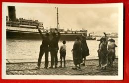 910 SHIP OCEAN LINER '' ANVERS '' VINTAGE PHOTO POSTCARD - Otros