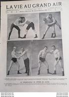 1899 LA VIE AU GRAND AIR - LE CHAMPIONNAT DU MONDE DE LUTTE - Magazines - Before 1900