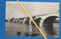 37- GUERRE 1939-45 - PORT-BOULET - PONT BOMBARDÉ PAR LES FORTERESSES AMÉRICAINES EN 1944 - RARE - - France